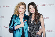 "Actors Caroline Aaron and Marin Hinkle attend the New York Women in Film and Television's ""Designing Women Awards"" at the DGA on June 11, 2019 in New York City."