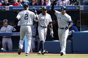 Curtis Granderson and Nick Swisher Photos Photo