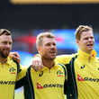 David Warner and Matthew Wade Photos