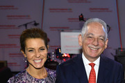 (L-R) TV personality Stephanie Ruhle and Steven J. Corwin, MD attend NewYork-Presbyterian Hospital's Amazing Kids, Amazing Care Dinner at Cipriani 25 Broadway on October 25, 2018 in New York City.
