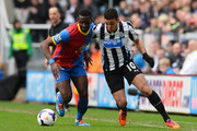 Hatem Ben Arfa and Yannick Bolasie Photos Photo