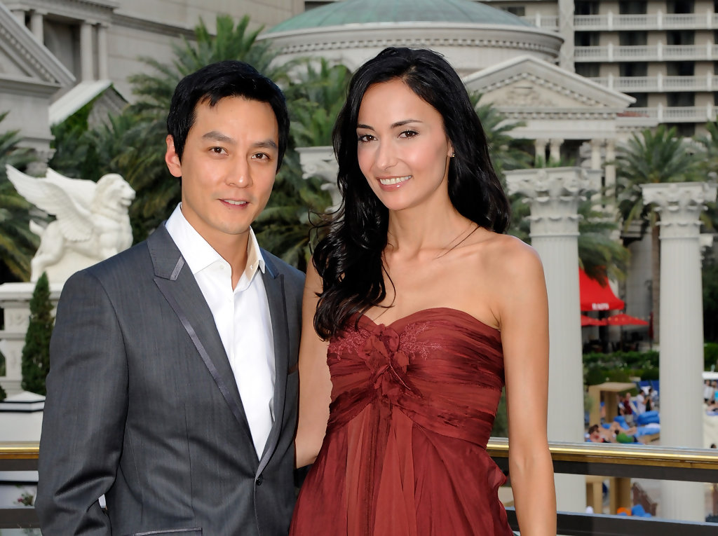 daniel wu photos newlyweds daniel wu and lisa selesner