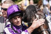 Ryan Moore after riding US Navy Flag to win The Darley July Cup at Newmarket Racecourse on July 14, 2018 in Newmarket, United Kingdom.