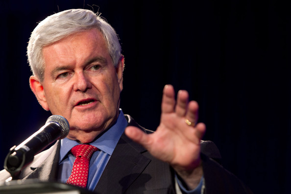 newt gingrich images. Newt Gingrich Addresses The