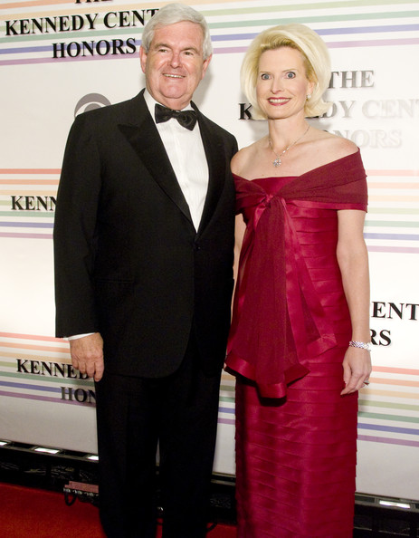 Politician Newt Gingrich and Callista Gingrich, Source: Zimbio