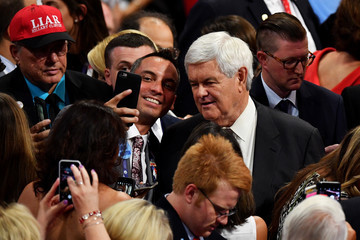 Newt Gingrich Republican National Convention: Day Four