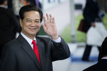 Nguyen Tan Dung Nuclear Security Summit 2014