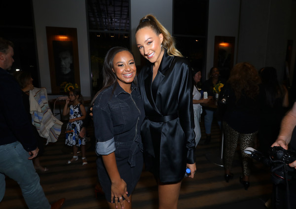 Premiere Of Netflix's 'Tall Girl' - After Party [fashion,beauty,event,fashion design,fun,dress,party,night,little black dress,style,premiere,party,premiere,party,netflix,l,nia sioux,tall girl,actresses,ava michelle]