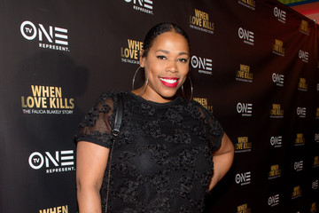 Nicci Gilbert 'WHEN LOVE KILLS: THE FALICIA BLAKELY STORY' Red Carpet Screening and Q&A