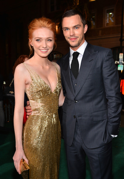 """Premiere Of New Line Cinema's """"Jack The Giant Slayer"""" - Red Carpet [jack the giant slayer,suit,dress,formal wear,event,hairstyle,fashion,premiere,public event,tuxedo,cocktail dress,red carpet,eleanor tomlinson,nicholas hoult,tcl chinese theatre,california,new line cinema,l,premiere,premiere]"""