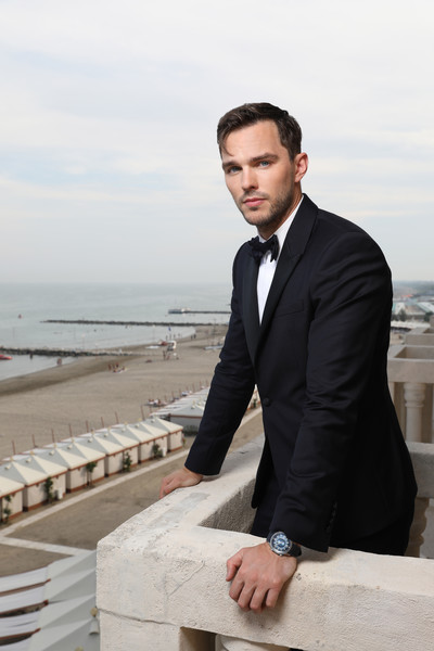 European Best Pictures Of The Day - September 05, 2019 [best pictures of the day,image,portrait,suit,photograph,formal wear,gentleman,male,white-collar worker,tuxedo,businessperson,outerwear,photography,watch,nicholas hoult,request,european,palazzo del cinema,venice,jaeger-lecoultre]