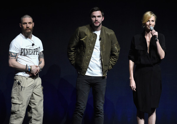 CinemaCon 2015 - Warner Bros. Pictures Invites You To 'The Big Picture,' An Exclusive Presentation Highlighting The Summer Of 2015 And Beyond [the big picture,performance,talent show,event,fashion,performing arts,fun,music,stage,music artist,photography,actors,charlize theron,nicholas hoult,tom hardy,beyond,cinemacon,warner bros. pictures,the big picture\u00e2,an exclusive presentation highlighting the summer]