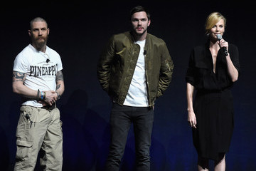 Nicholas Hoult Tom Hardy CinemaCon 2015 - Warner Bros. Pictures Invites You To 'The Big Picture,' An Exclusive Presentation Highlighting The Summer Of 2015 And Beyond