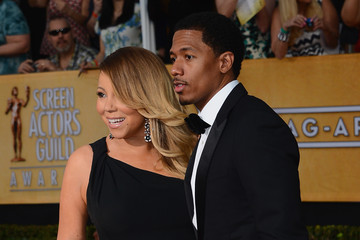 Nick Cannon Mariah Carey 20th Annual Screen Actors Guild Awards - Arrivals