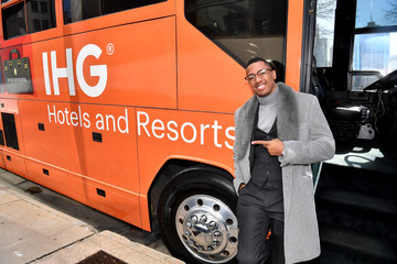 Nick Cannon IHG & Nick Cannon Welcome Fans With Home Team Hospitality Event