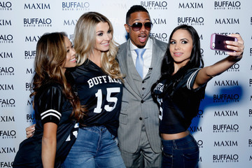 Nick Cannon Buffalo David Bitton Celebrates Pro Football's Biggest Weekend At The Hottest Party In Town!