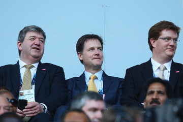Nick Clegg Danny Alexander 20th Commonwealth Games Opening Ceremony