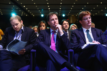 Nick Clegg Danny Alexander The Liberal Democrats Hold Their Annual Party Conference