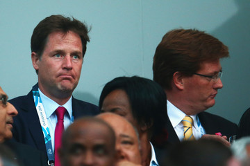 Nick Clegg Danny Alexander 20th Commonwealth Games: Closing Ceremony