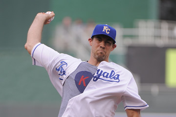 Nick Collison Texas Rangers v Kansas City Royals
