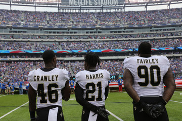 Nick Fairley New Orleans Saints v New York Giants