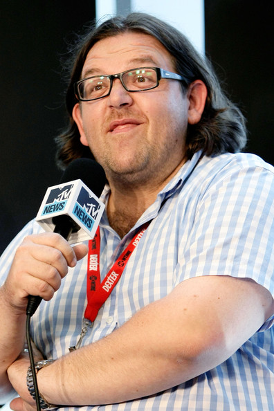 Nick Afanasiev Wallpapers Nick Frost Actor Nick Frost in the MySpace And MTV Tower During Comic