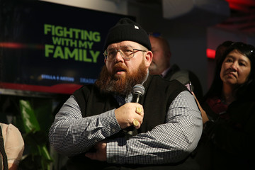 Nick Frost Stella Artois And Deadline Sundance Series At Stella's Film Lounge: A Live Q&A With The Filmmakers And Cast Of 'Fighting With My Family'
