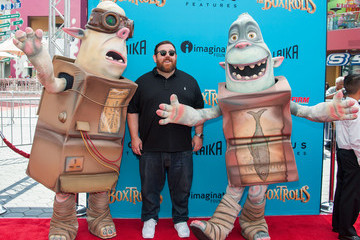 "Nick Frost Premiere Of Focus Features' ""The Boxtrolls"" - Arrivals"