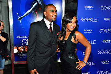 "Nick Gordon Premiere Of Tri-Star Pictures' ""Sparkle"" - Red Carpet"