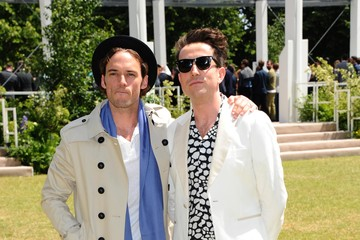 Nick Grimshaw Burberry Prorsum - Arrivals - London Collections Men SS16