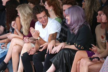 Nick Grimshaw Harry Styles House Of Holland - Front Row: London Fashion Week SS14