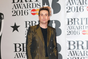Nick Grimshaw Brit Awards 2016 - Red Carpet Arrivals