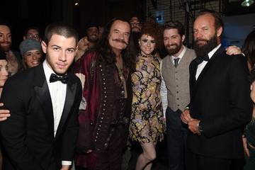 Nick Jonas 2015 Tony Awards - Backstage & Audience