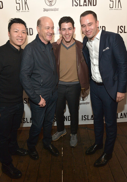 Island Records Pre-Grammy Party Hosted By President David Massey At STK, Presented By Jagermeister