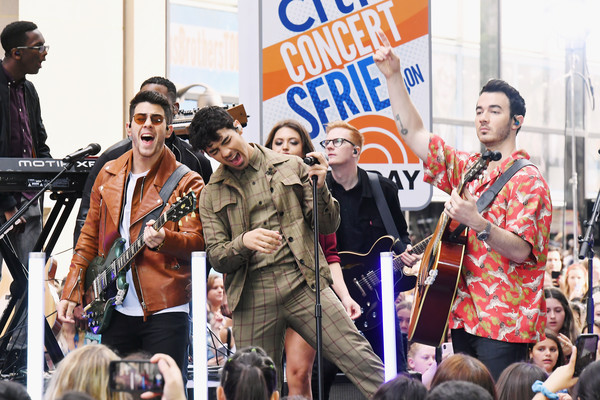 The Jonas Brothers Perfom On NBC's 'Today'