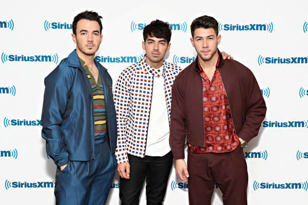 Jonas Brothers Visit SiriusXM Hits 1 At The SiriusXM Studios in New York City