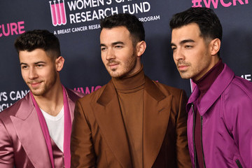 Nick Jonas Kevin Jonas The Women's Cancer Research Fund's An Unforgettable Evening 2020 - Arrivals