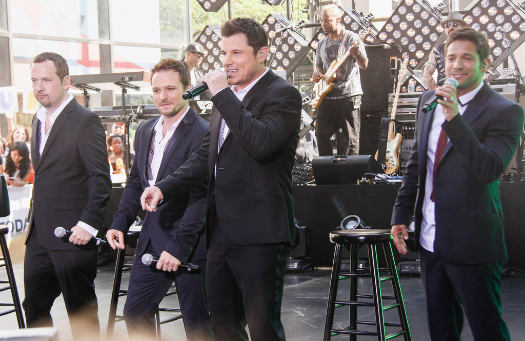 Nick Lachey - Bands Perform on 'The Today Show' in NYC