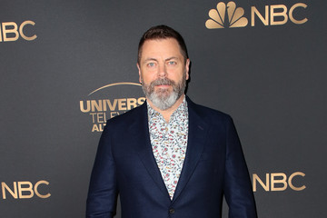 Nick Offerman NBC And Universal EMMY Nominee Celebration - Arrivals