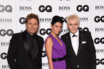 Nick Rhodes Nefer Suvio Guests Arrive at the GQ Men of the Year Awards