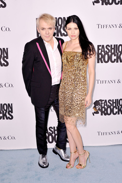 Fashion Rocks 2014 After Party - Arrivals [dress,hairstyle,fashion,premiere,cocktail dress,footwear,event,suit,formal wear,carpet,nick rhodes,duran duran,nefer suvio,weylin b. seymour,fashion rocks,brooklyn city,l,arrivals,party]