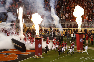 Nick Saban College Football Playoff National Championship Presented By AT&T - Alabama v Clemson
