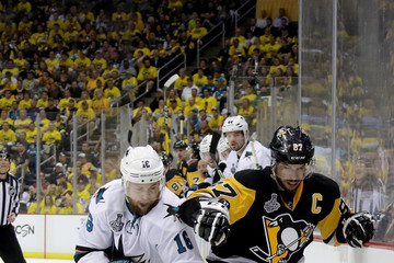 Nick Spaling 2016 NHL Stanley Cup Final - Game Two