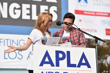 Nick Wechsler 30th Annual AIDS Walk Los Angeles