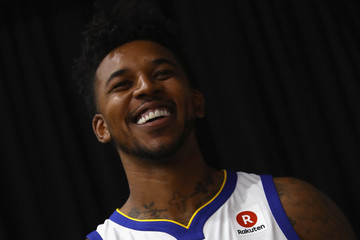 Nick Young Golden State Warriors Media Day