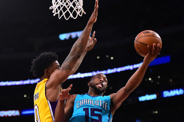 Nick Young Charlotte Hornets v Los Angeles Lakers