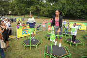 Actors (L-R)  Tylen Jacob Williams and Sydney Park attend Nickelodeon's 11th Annual Worldwide Day of Play at Prospect Park on September 20, 2014 in New York City.