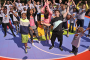 Actors (L-R)  Tylen Jacob Williams, Sydney Park,  Kira Kosarin and Jack Griffo attend Nickelodeon's 11th Annual Worldwide Day of Play at Prospect Park on September 20, 2014 in New York City.