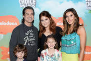 Recording artist Scott Stapp (L) attends Nickelodeon's 2016 Kids' Choice Awards at The Forum on March 12, 2016 in Inglewood, California.
