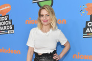 Actor Candace Cameron-Bure attends Nickelodeon's 2018 Kids' Choice Awards at The Forum on March 24, 2018 in Inglewood, California.